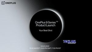 OnePlus 9 รุ่นใหม่จะเปิดตัววันที่ 23 มีนาคมนี้