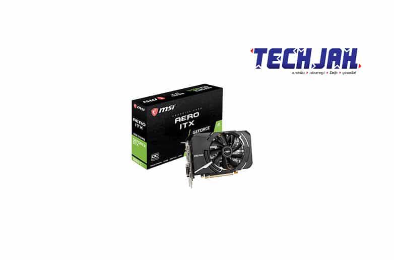 การ์ดจอ MSI VGA GeForce GTX 1660 Ti AERO ITX